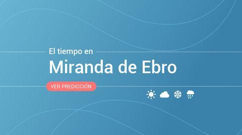 El tiempo en Miranda de Ebro: previsión meteorológica de hoy, domingo 20 de octubre
