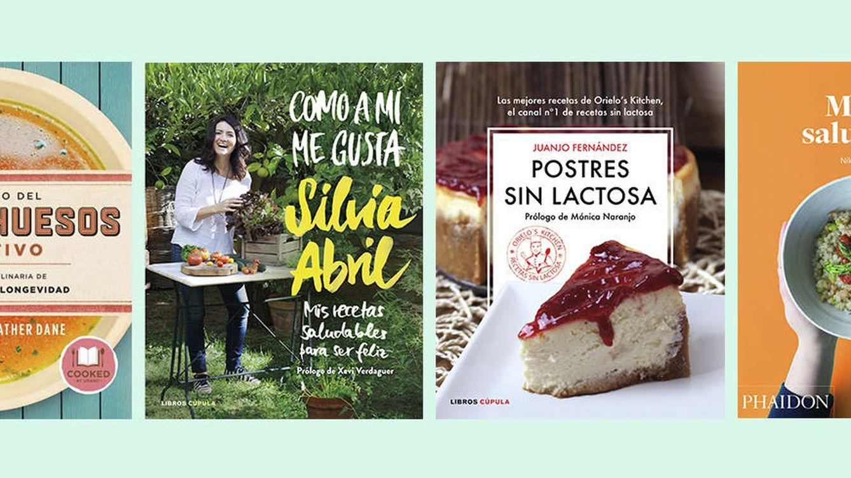 Cocina sana: cuatro libros de recetas para mejorar tu dieta de forma divertida