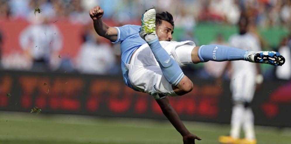 Foto: David Villa está impulsando con sus goles a la MLS de los Estados Unidos (Reuters)