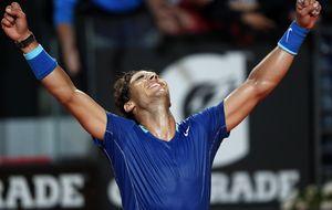 Nadal hace del sufrimiento una virtud para llegar lleno de moral a la final ante Djokovic