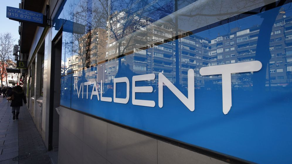 Foto: Fachada de una clínica Vitaldent en la Madrid. (Efe)