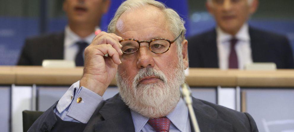 Foto: Miguel Arias Cañete en el Parlamento Europeo (EFE)
