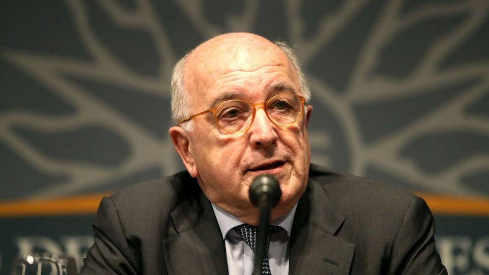 Foto: Joaquín Almunia en Uruguay (EFE)