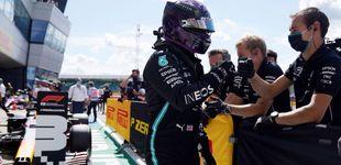 Post de Fórmula 1: insultante pole de Hamilton en Silverstone, Carlos Sainz saldrá séptimo