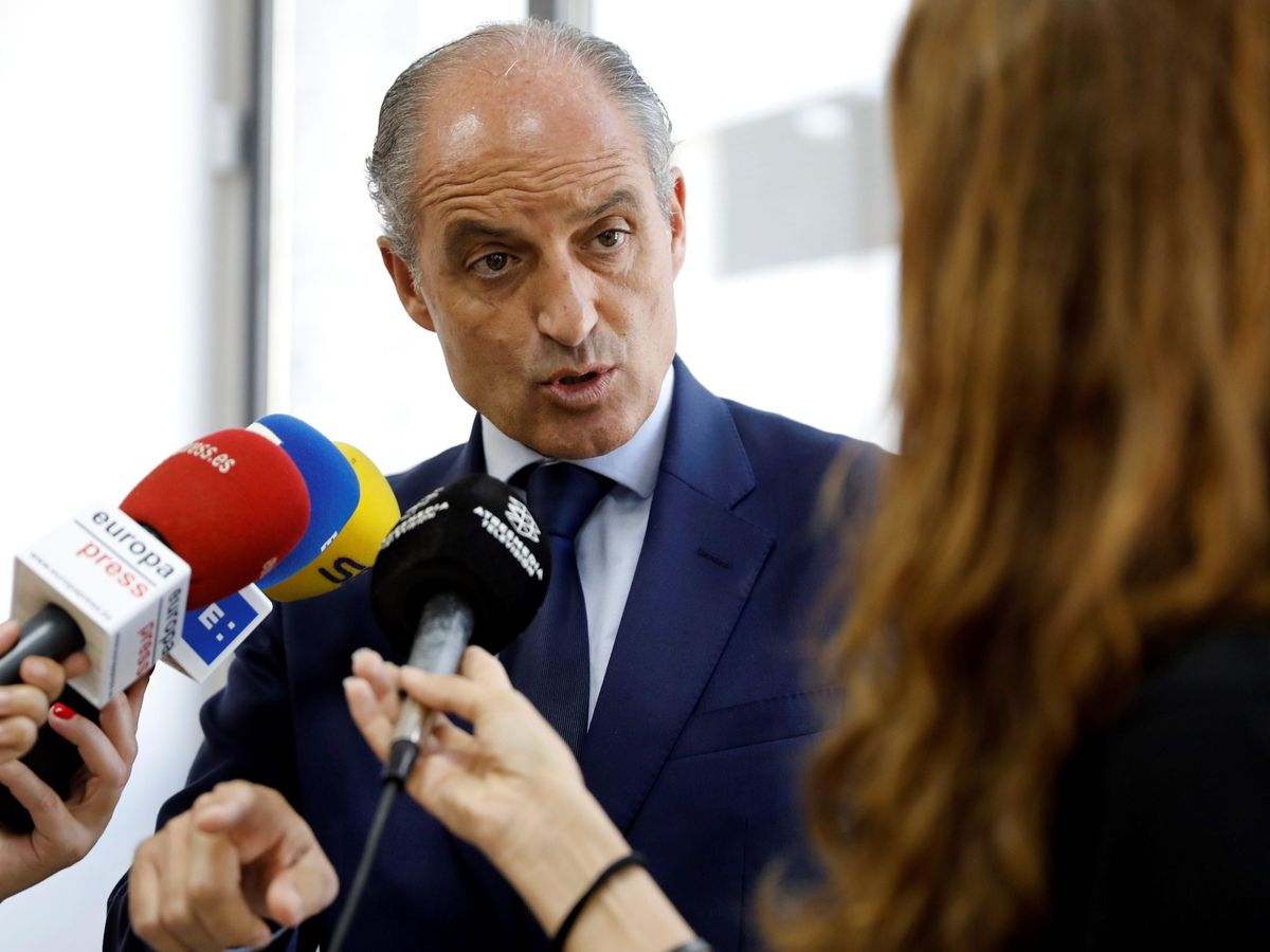 Foto: El expresidente de la Generalitat valenciana Francisco Camps. (EFE)