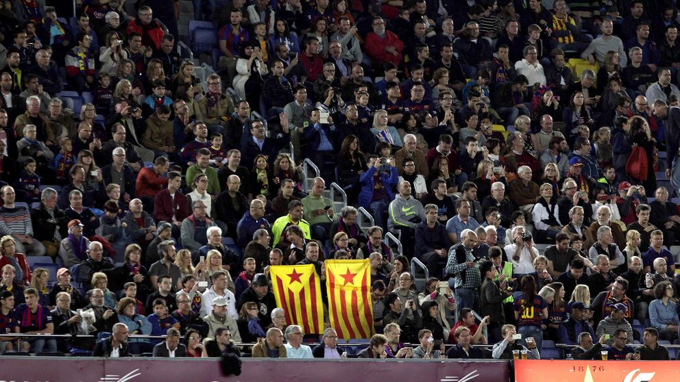 La UEFA da una tregua al Barcelona en la guerra de las esteladas