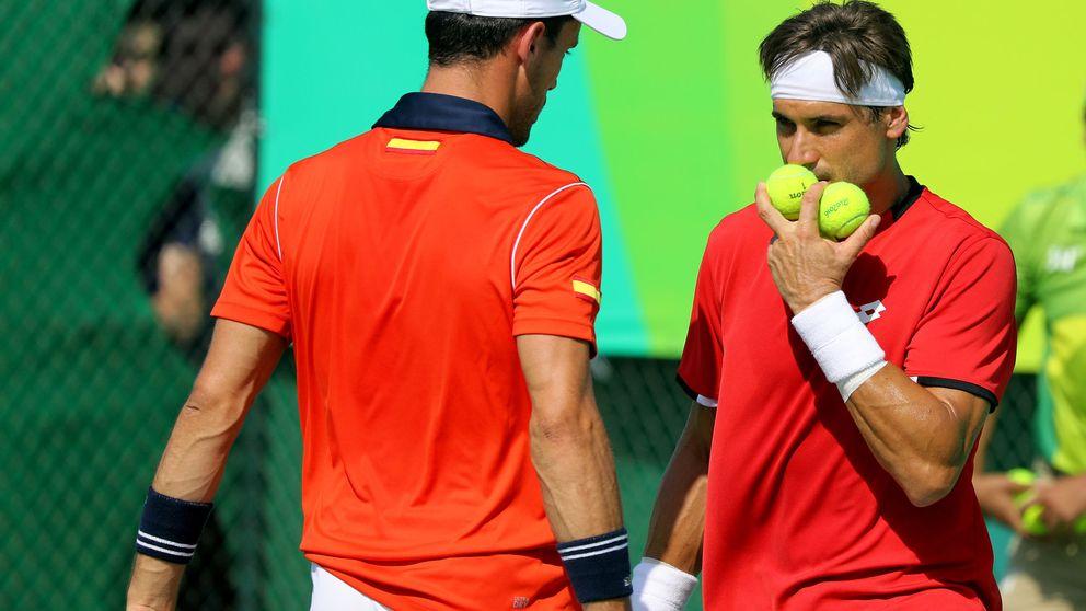 El dobles masculino español también pierde y dice adiós a los Juegos