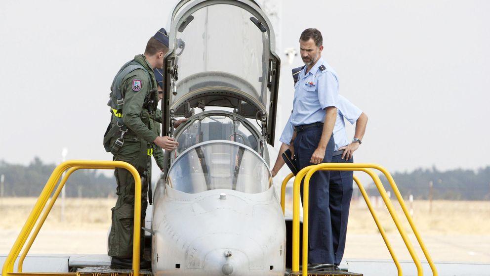 El Rey cenó en Sevilla con clientes de Airbus en plena crisis del A400M