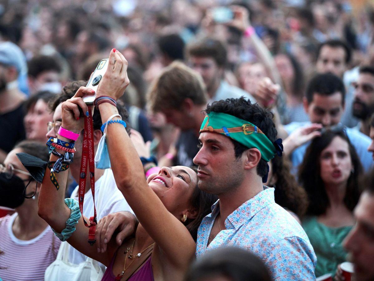 Foto: Festival multitudinario en Barcelona. (EFE)