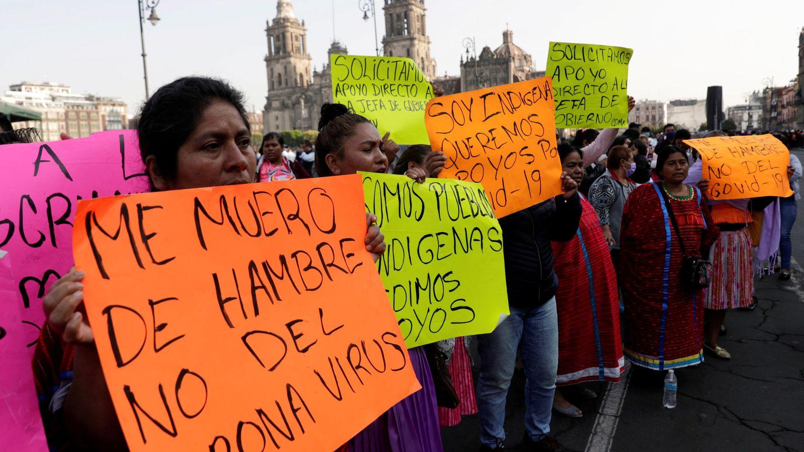"""No nos matará el coronavirus, lo hará el hambre"""": la crisis alimentaria que viene"""
