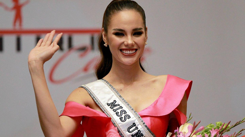 La nueva Miss Universo, durante la rueda de prensa. (Cordon Press)