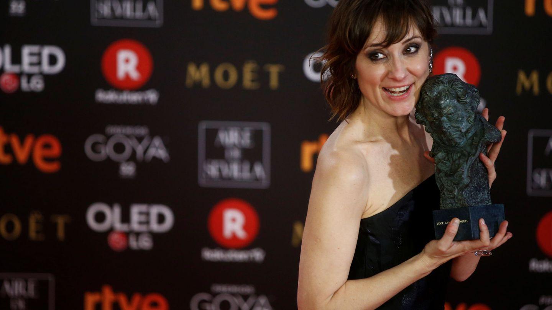 Nathalie Poza, ganadora del Goya a Mejor actriz revelación. (Reuters)