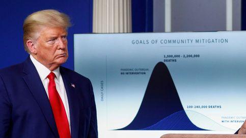 El PIB de EEUU cayó un 5% en el primer trimestre, dos décimas más de lo previsto