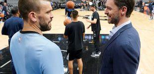 Post de El siguiente hito que persiguen Pau y Marc Gasol en la NBA