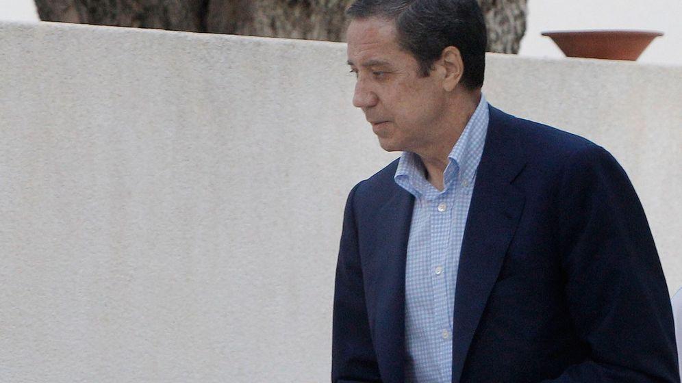 Foto: El 'expresident' de la Generalitat Valenciana Eduardo Zaplana, en una foto tomada en mayo de 2018. (EFE)