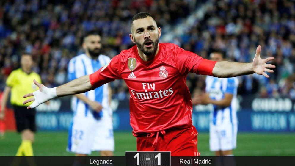 El empeño de Benzema por salvar al Real Madrid del ridículo le honra