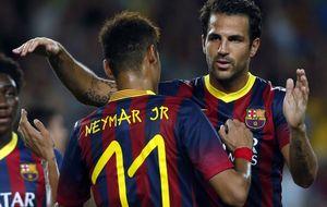 El Barça se cansa del runrún del United y pide a Cesc hable ya
