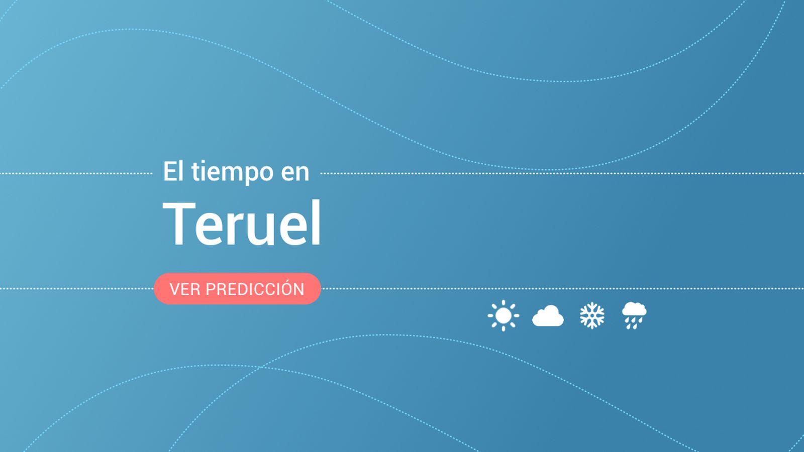 Foto: El tiempo en Teruel. (EC)