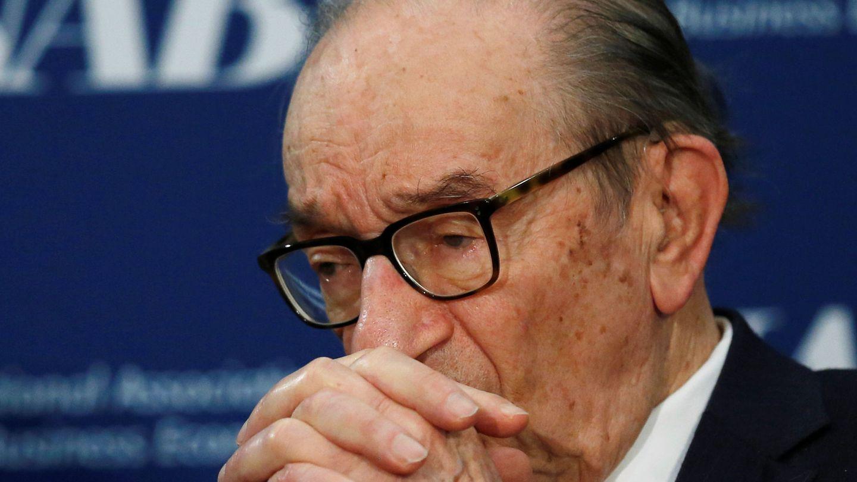 El expresidente de la Fed Alan Greenspan. (Reuters)