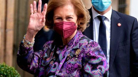 Duda resuelta: la reina Sofía ya está en Oviedo para asistir a los Princesa de Asturias