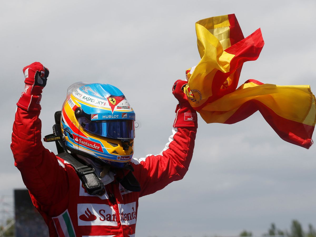 Foto: El último podio de Fernando Alonso en la Fórmula 1 se remonta a 2014