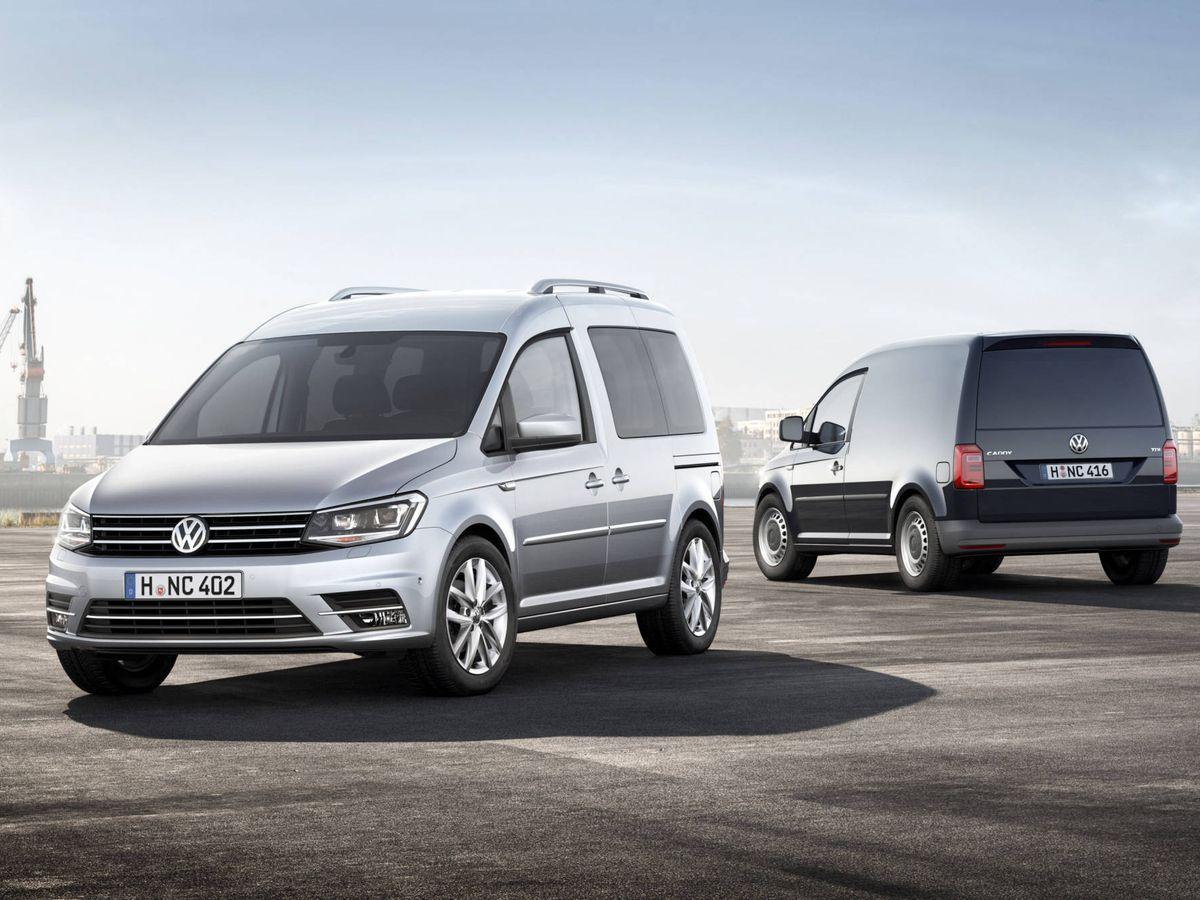 Foto: El modelo más vendido en España fue el Caddy, con casi 10.000 unidades en 2019.