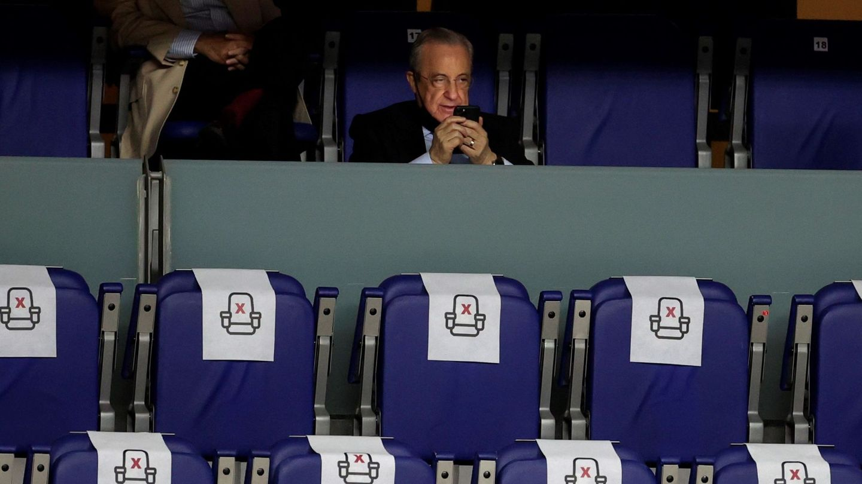 El presidente del Real Madrid, Florentino Pérez. (EFE)