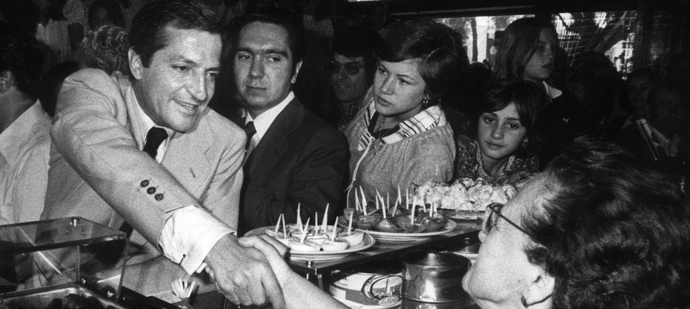 """Foto: De cuando los empresarios veían a Suárez como un """"izquierdista falangista"""""""