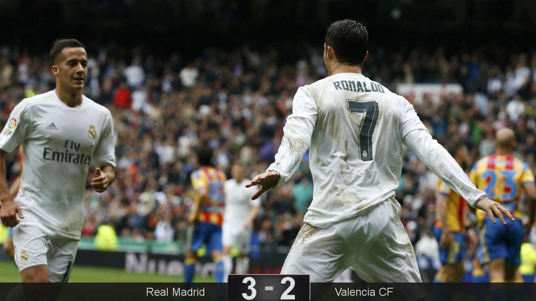 Foto: Cristiano marcó otro doblete (REUTERS Paul Hanna).