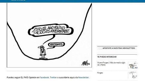 Crítico y reivindicativo: la última viñeta publicada por 'Forges' en 'El País'
