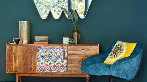 El toque de color definitivo para tu salón lo puedes conseguir con estos sillones de Maisons du Monde