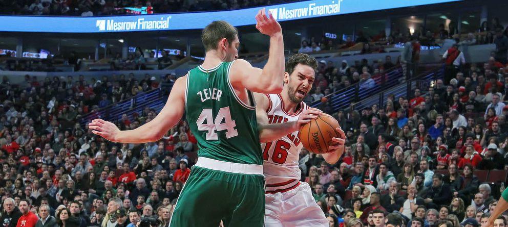 Espectacular liderazgo de Pau Gasol para dar otra victoria a los Bulls, esta vez ante Celtics