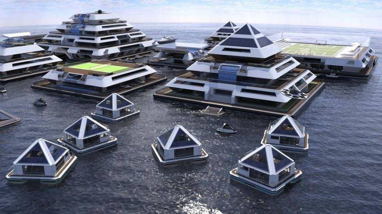 Wayaland, la ciudad de las pirámides flotantes que busca habitantes antes de 2022