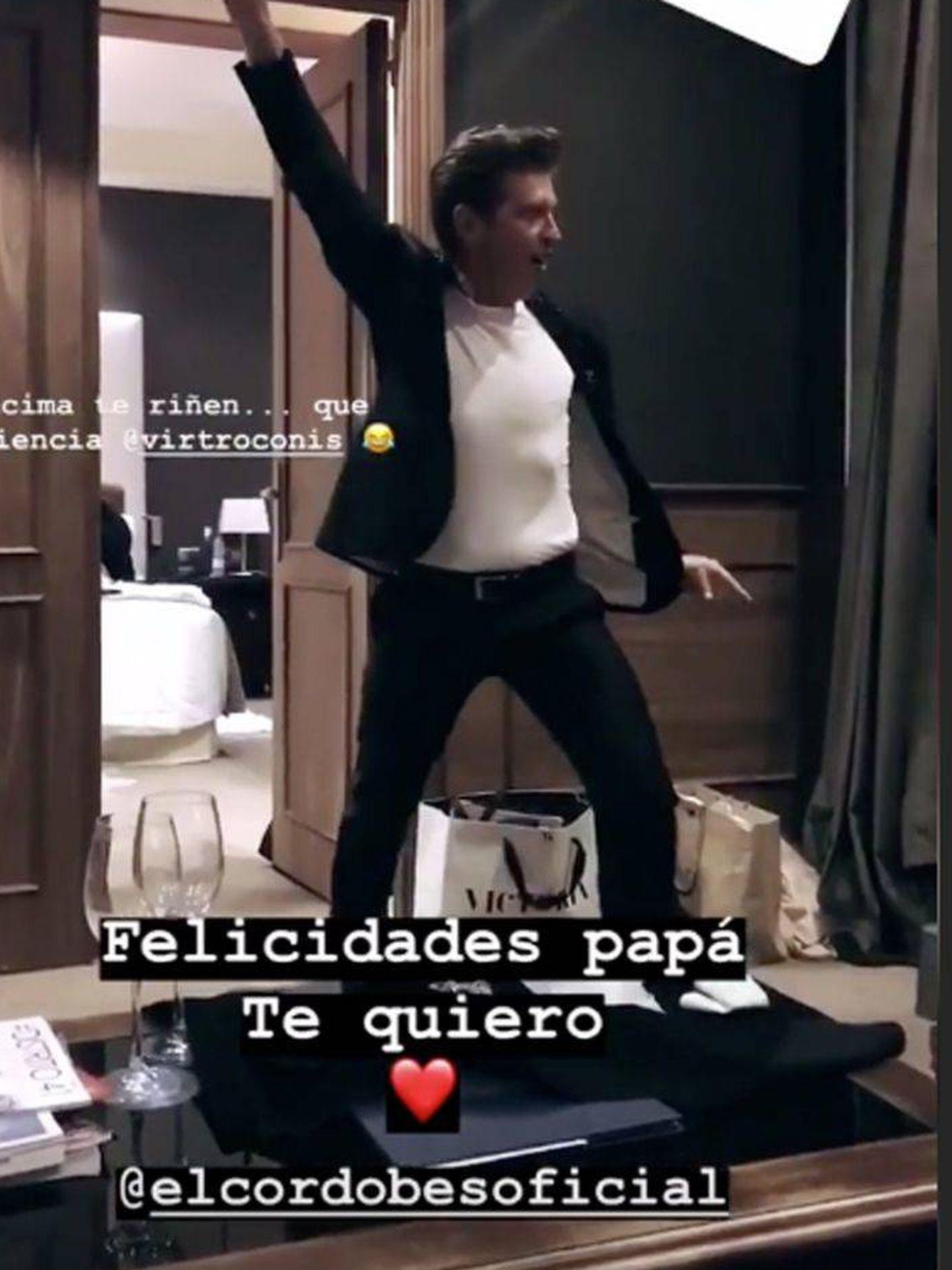 Manuel Díaz el Cordobés en uno de sus Stories.