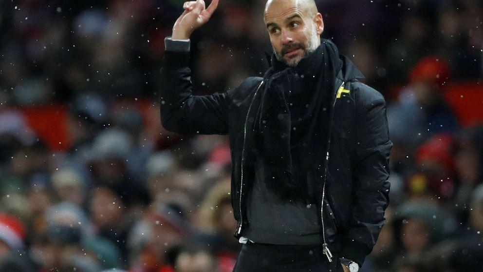 Guardiola y su gesto a favor de los Jordis ante la incredulidad de Mourinho