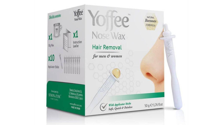 Kit de cera para la nariz de Yoffee.