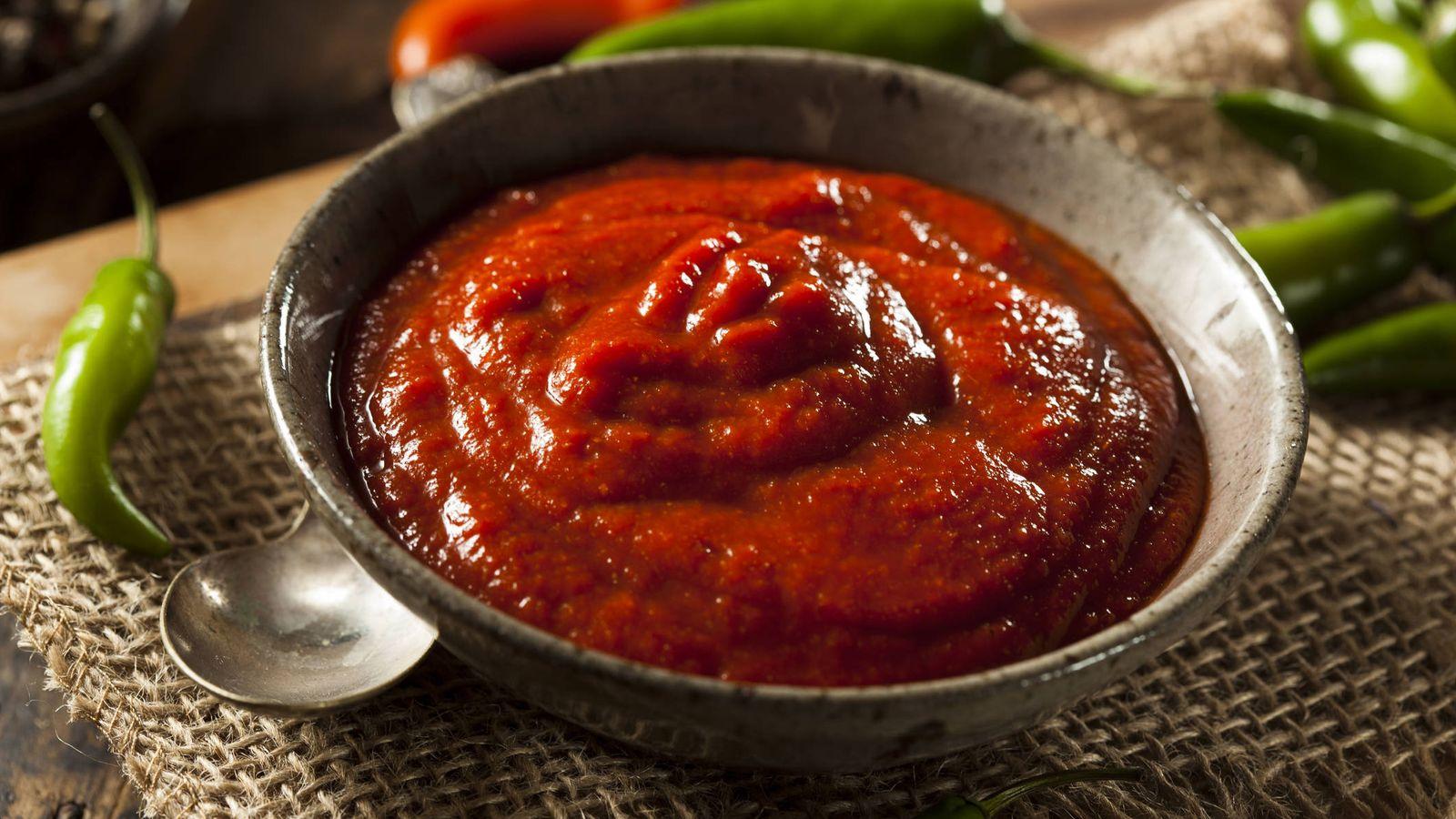 Salsa picante roja