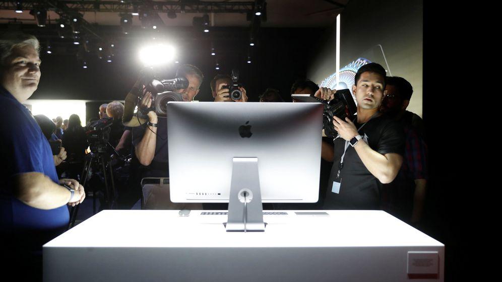 Foto: Un protipo del iMac Pro durante el evento anual de Macintosh en San José. (Foto: Reuters)