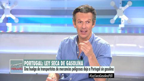 Joaquín Prat sufre un ataque de risa en directo por el desliz de una reportera
