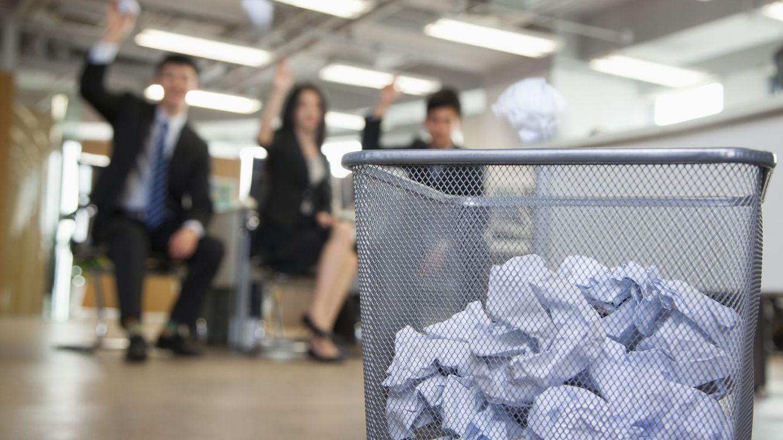 Foto: Aquí es donde terminan los currículos. (iStock)