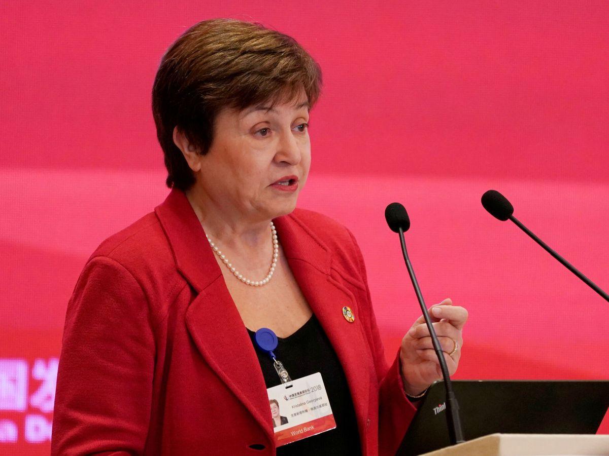 Foto: La directora gerente del FMI, Kristalina Georgieva. (Reuters)