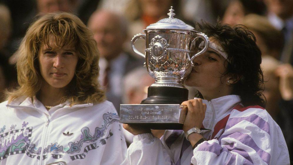 Foto: Arantxa Sánchez Vicario gana su primer Roland Garros en 1989. (Imago)
