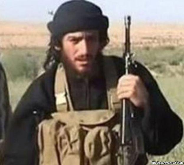 Foto: Abu Muhammad al-Adnani en una imagen difundida por el Departamento de Estado de EEUU (Reuters).