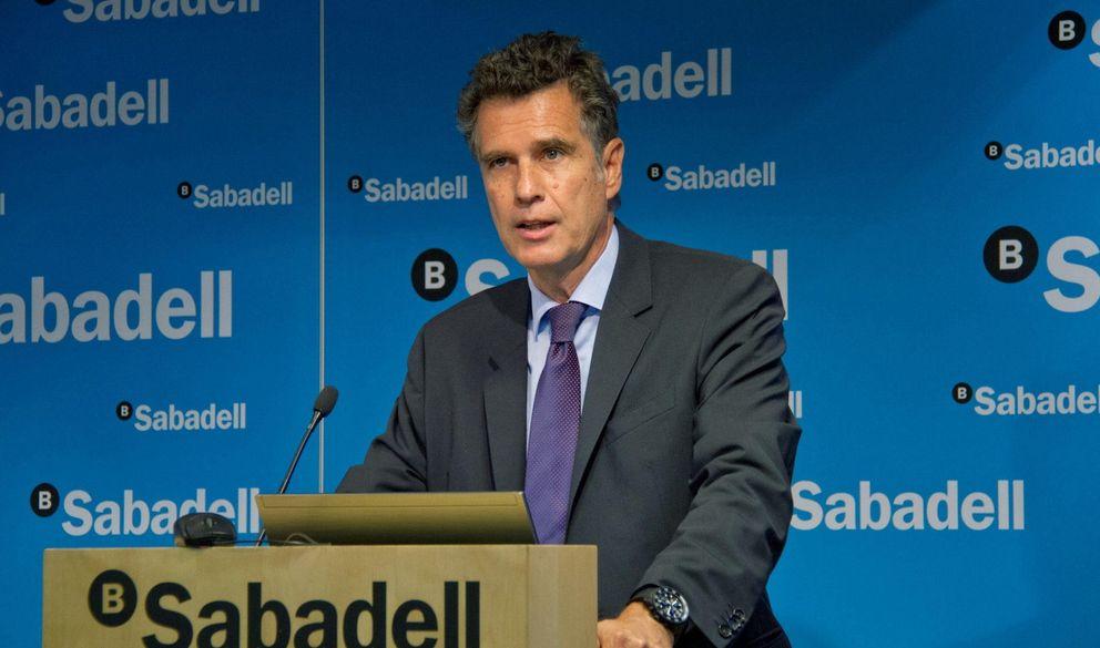 Foto: Jaume Guardiola, consejero delegado de Banco Sabadell (Efe).