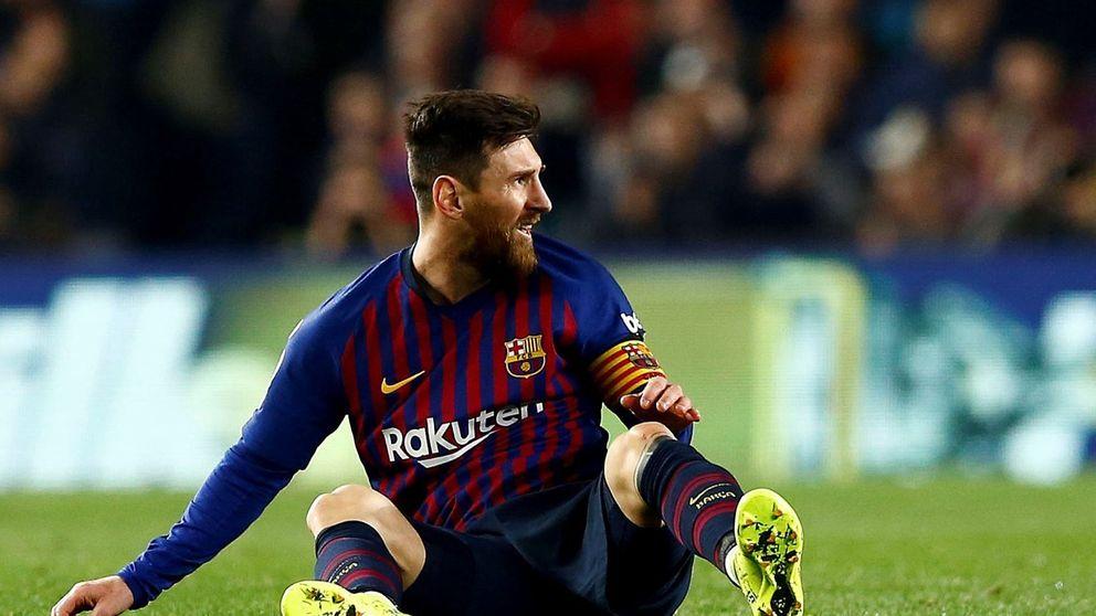 Las patrañas del Barcelona con Leo Messi