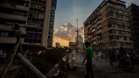 Las fuerzas de seguridad dispersan las marchas en Caracas