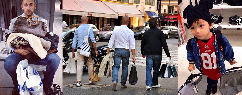 Foto: Los hombres también compran (Fotos: @miserablemen)