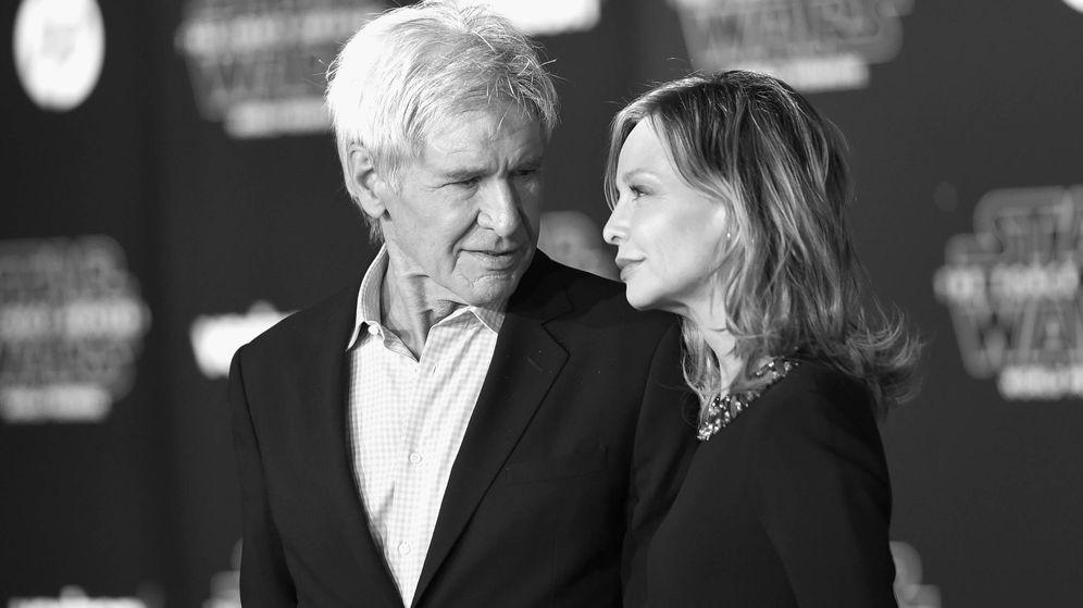 Foto:  Harrison Ford y Calista Flockhart. (Getty)
