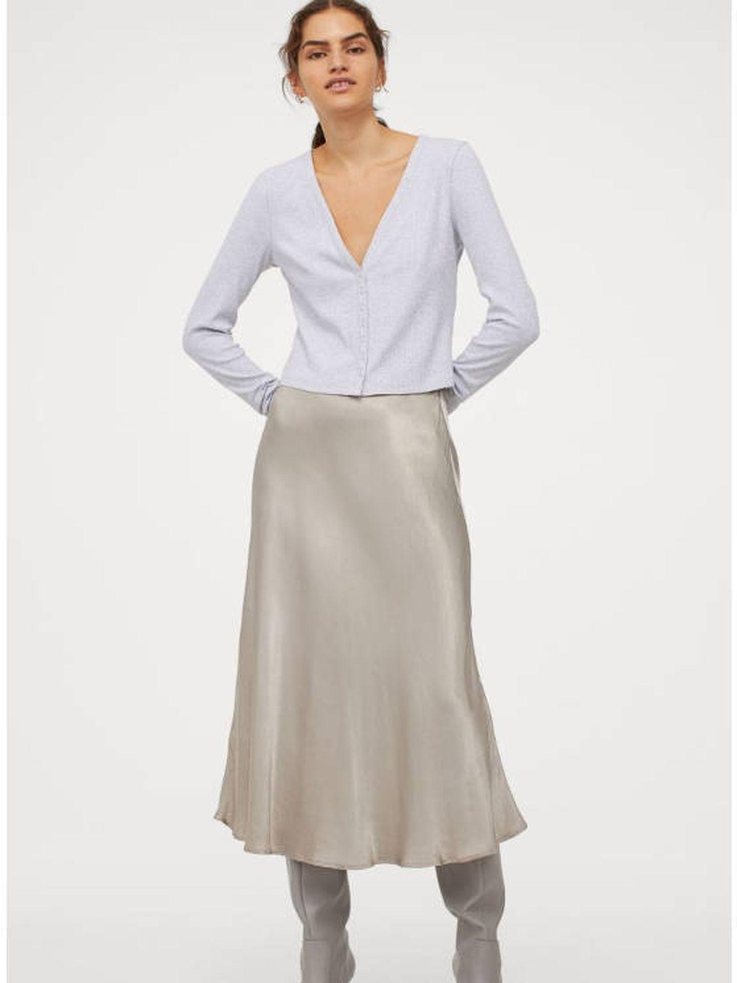 Falda de HyM. (Cortesía)