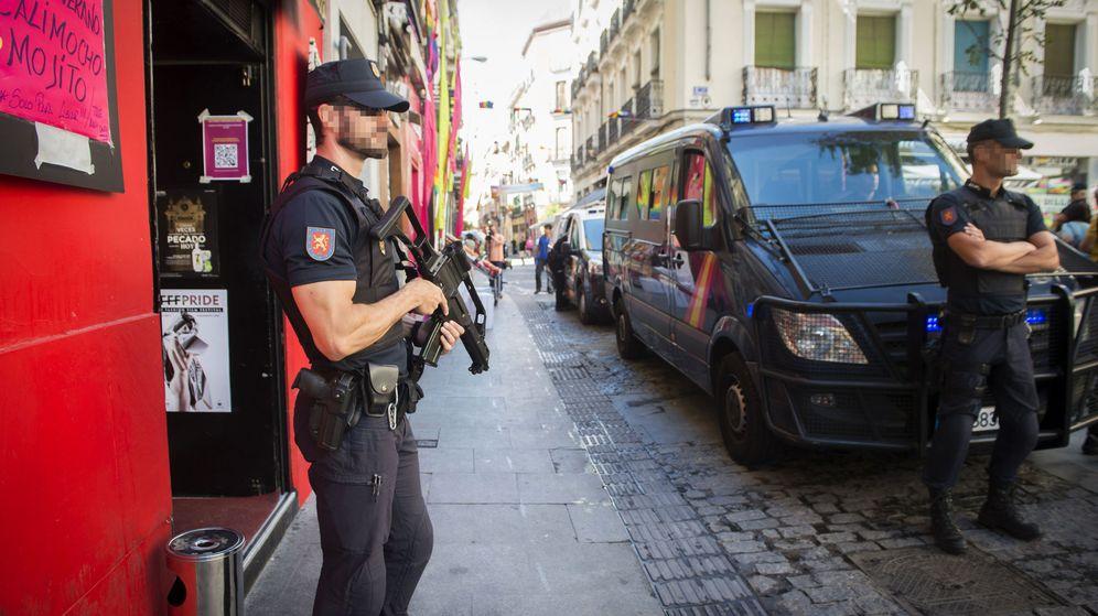 Foto: Las medidas de seguridad en 2017 fueron sustancialmente mayores a las del presente año. (EFE)